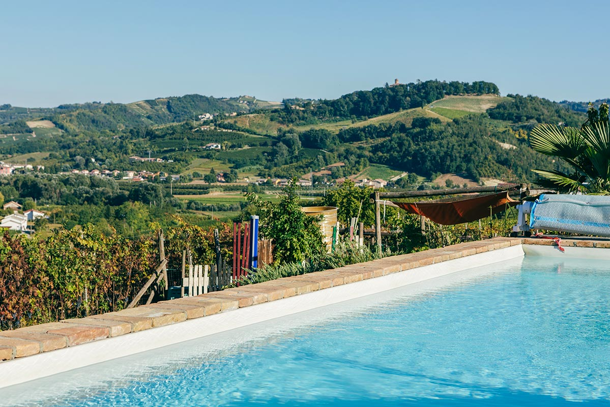 Unser Pool 10x5m
