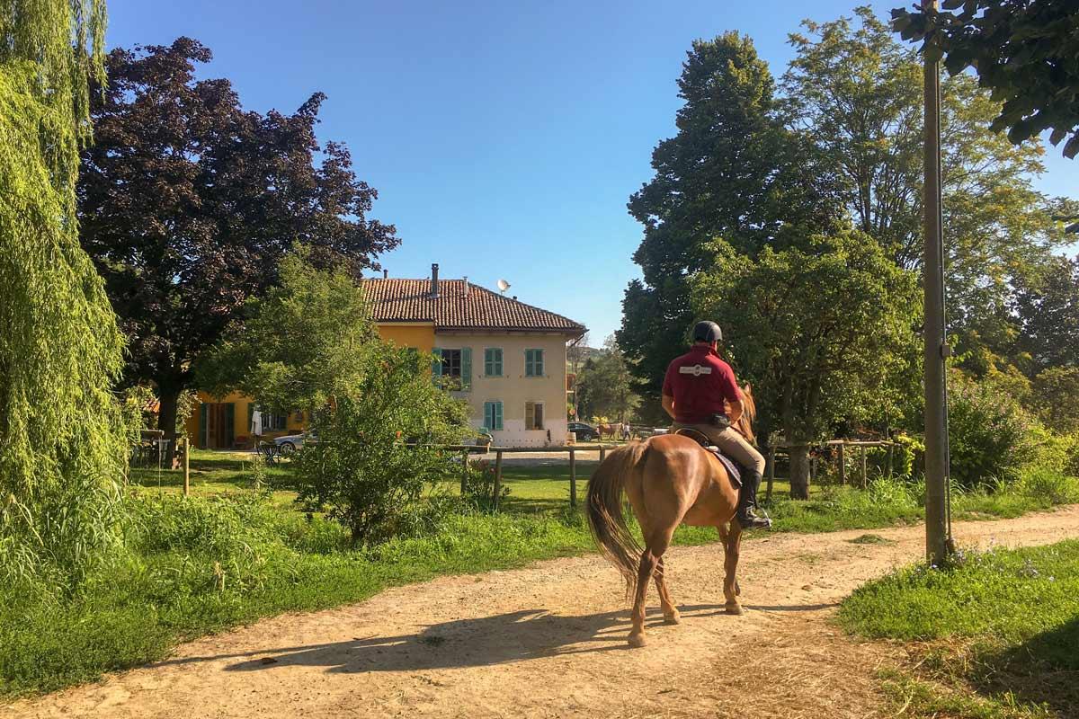 Reiten im Piemont