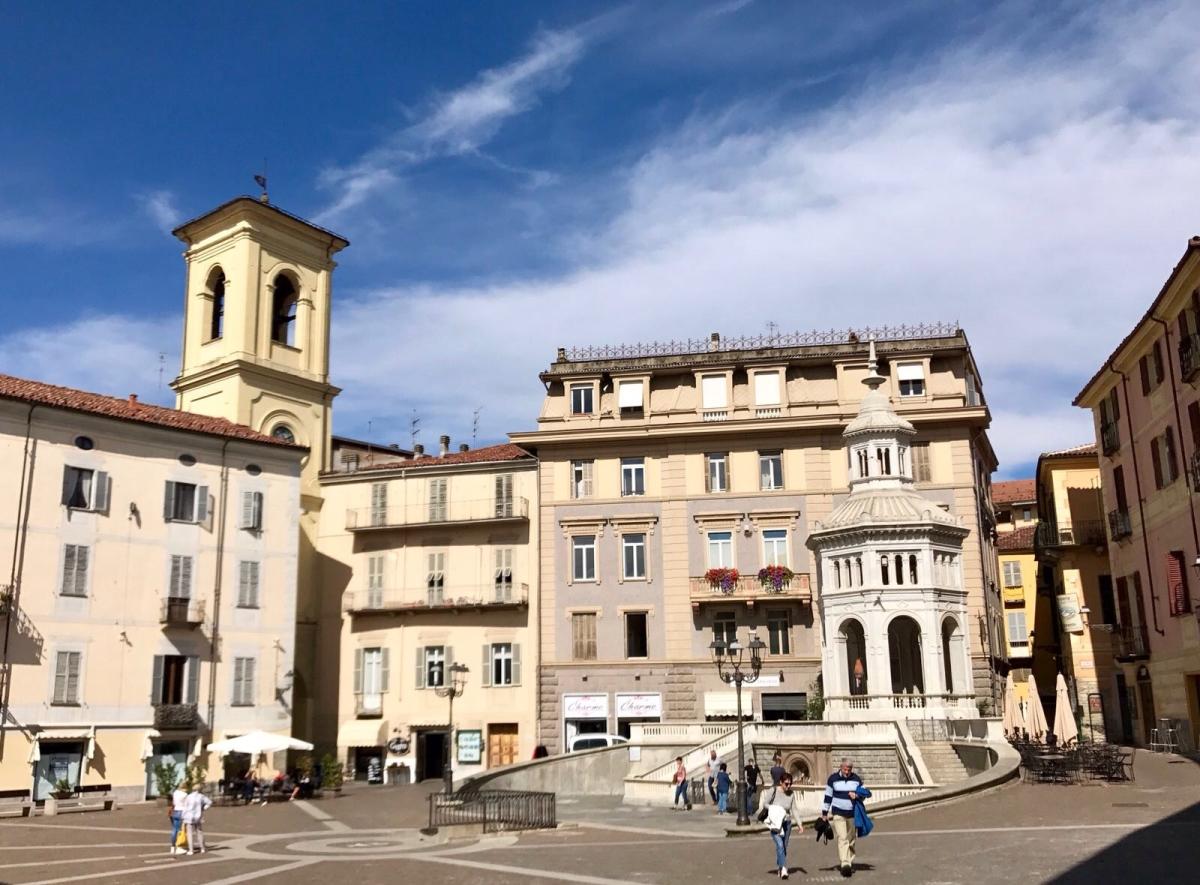 Sodbrunnen in Acqui Terme