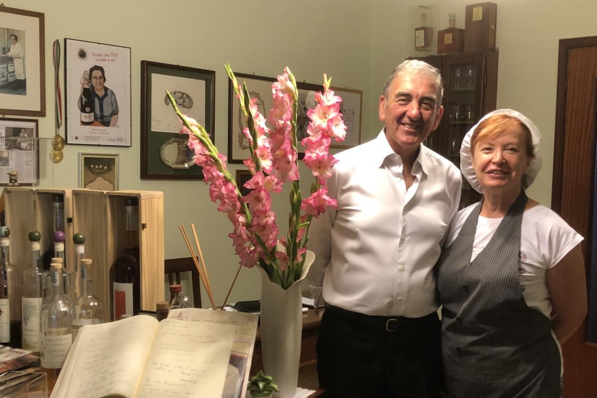 Carlo e Silvana im La Violetta
