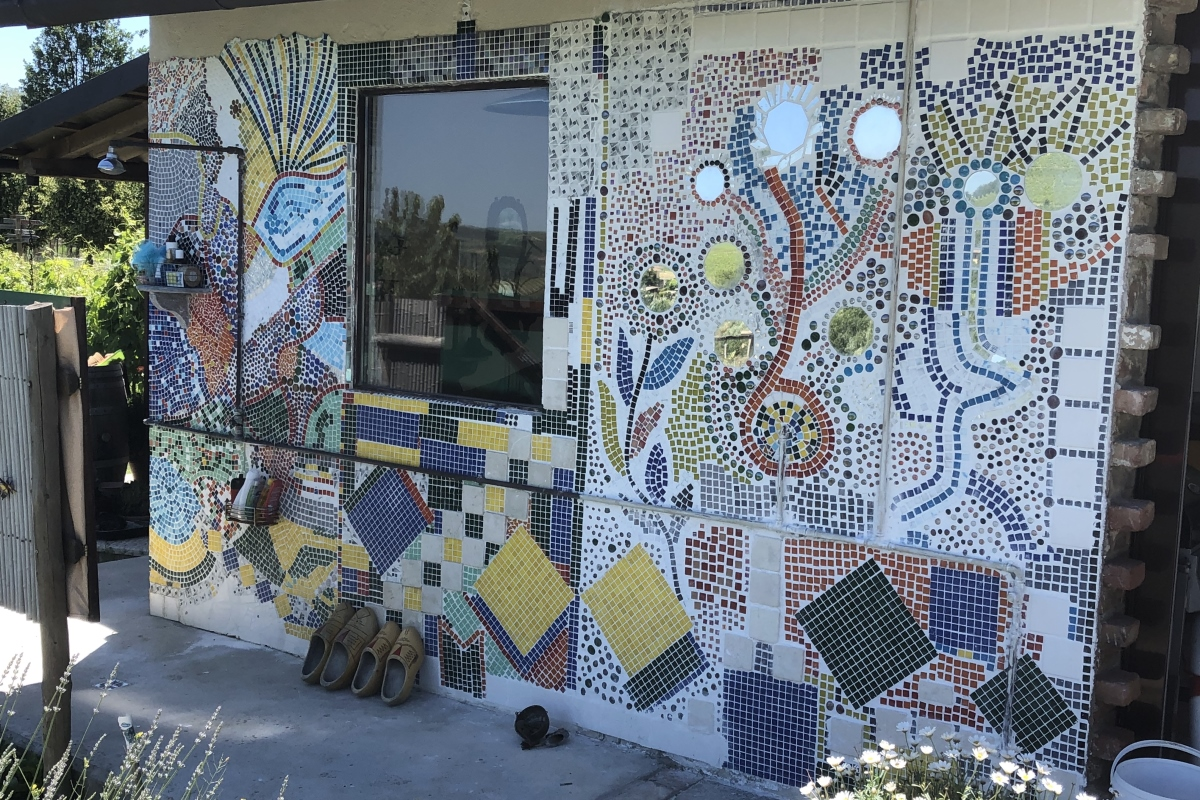 Unser Mosaik Kunstwerk